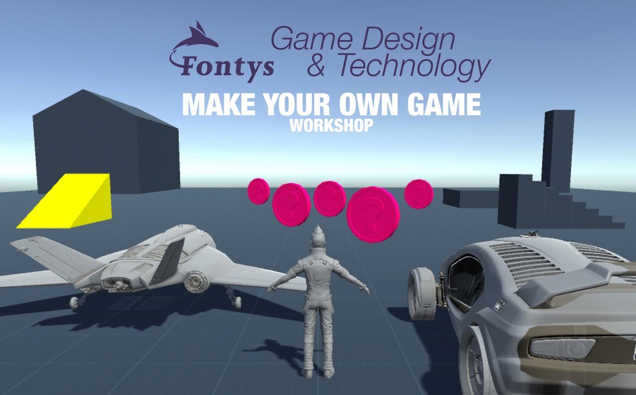 Programmeer jouw 3D game