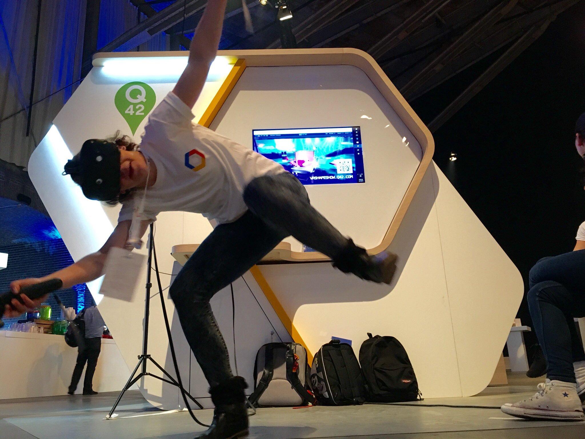 VR Human Tetris