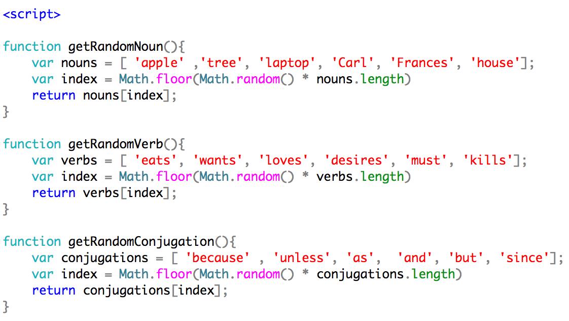 Gedichten programmeren