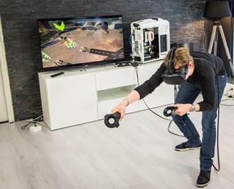 VR peddel challenge
