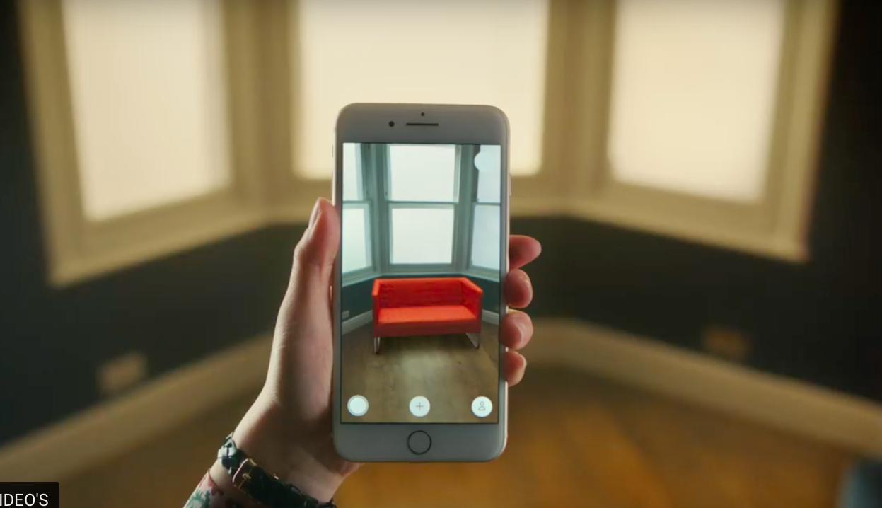 Nieuwe meubels in AR