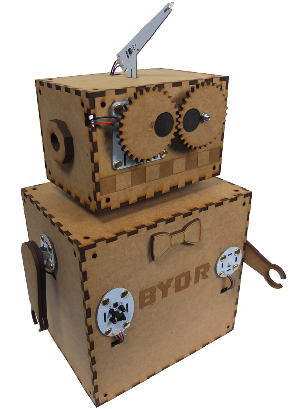 Build You Own Robot (BYOR)