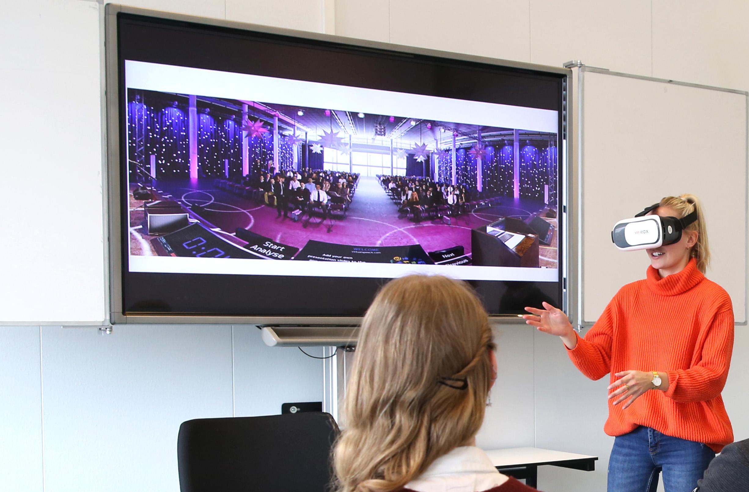 Met VR Spreekangst overwinnen