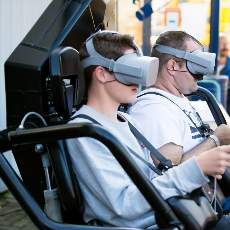 Virtuele achtbaan